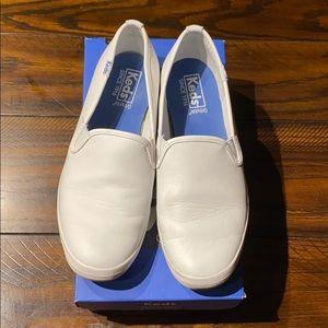 Keds champion white leather size 7 shoes